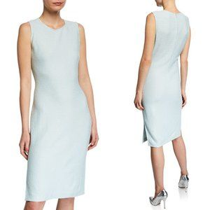 St. John Hannah Knit Sleeveless Sheath Dress 6